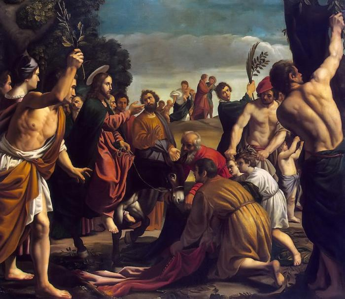 Евангелие Матфея Глава 21