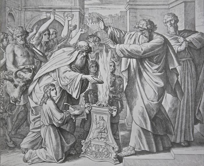 Варнава и Павел в Листре