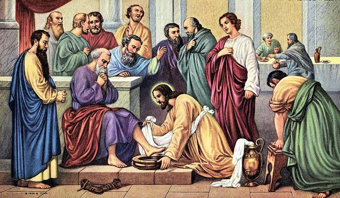 Евангелие От Иоанна Глава 13